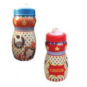 Garrafa Squeeze Plástica com Bico Sleeve Circus 250 ml