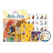 KIT 5 EM 1 A BELA E A FERA DISNEY - COM DVD EXCLUSIVO