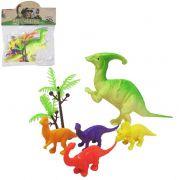 Kit 5 Dinossauros de Pvc Jurassic World + Acessório