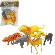 Kit Animal Selvagem de Pvc The Animal World com 6 Especies Sortidas