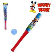 KIT BASEBALL INFANTIL TACO MAIS BOLA MICKEY MOUSE 43X 5CM