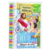 KIT COM 10 LIVROS PARA LER E COLORIR HISTÓRIAS BÍBLICAS