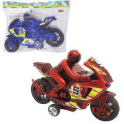 Moto a Fricção Racing Colors 23X14cm