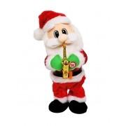 Papai Noel com Saxofone Musical e Dançarino Mexe o Corpo e o Bumbum - Muito Divertido