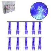 Pisca com 100 Lampadas Leds Cor Azul Decorativo com 4 Funções 9 M - 127V