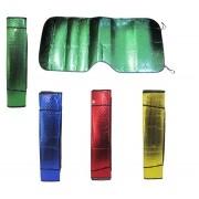Protetor Solar Automotivo Tapa Sol Para-Brisa Carro Metalizado e Colorido 130X60CM