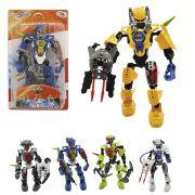 Super Robô Espacial Hero Squad - Colecionável