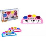 Teclado Piano Baby Musical Infantil com Efeitos Luminosos