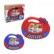 TECLADO PIANO MUSICAL INFANTIL EDUCATIVO HERO SQUAD