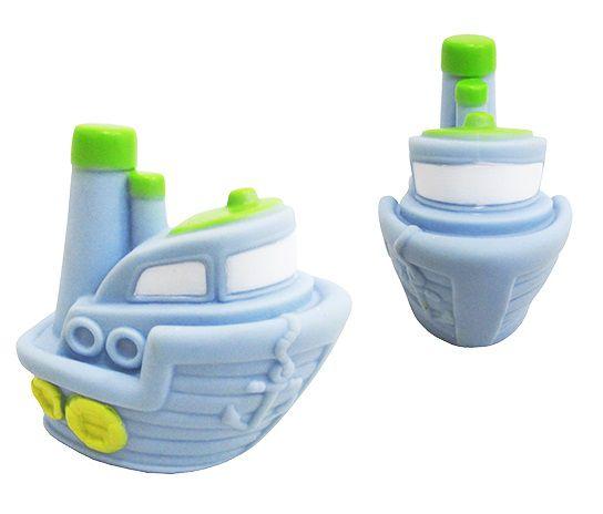 Brinquedo de Vinil para Bebê a Partir de 3 Meses - Navio