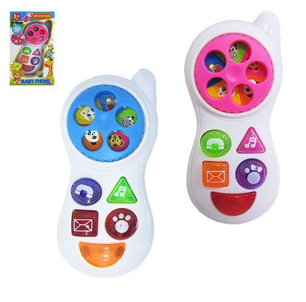 Celular Musical Baby Phone com Som e Luz