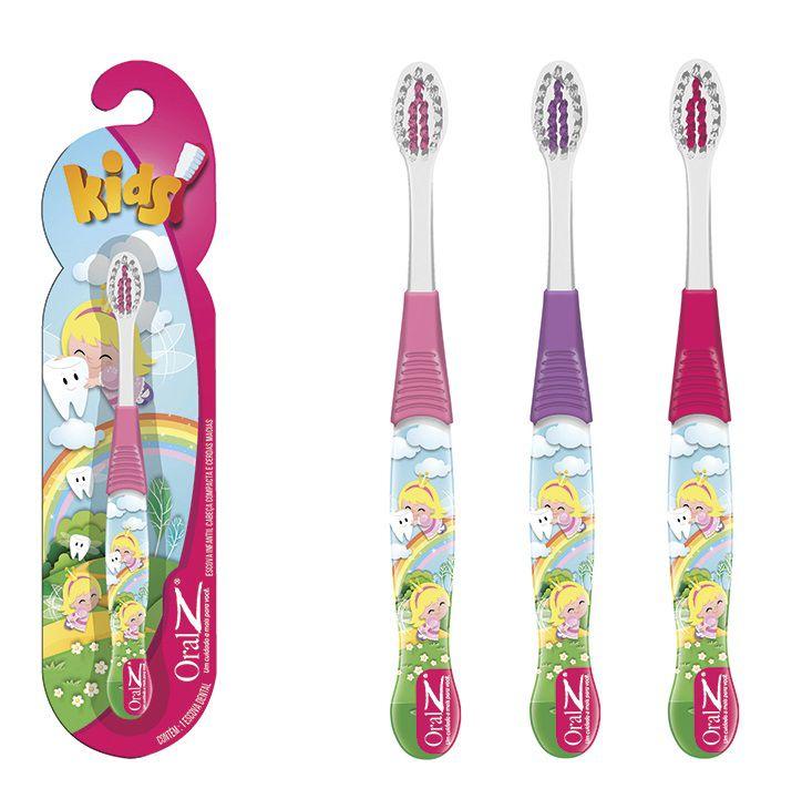 Escovas dental Infantil Cerdas Macias  - Fada do Dente