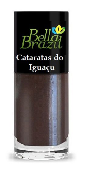 ESMALTE BELLA BRAZIL MARRON METALIZADO CATARATAS DO IGUAÇU - 204