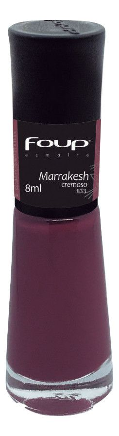 ESMALTE CREMOSO FOUP 8ML MARRAKESH - 833