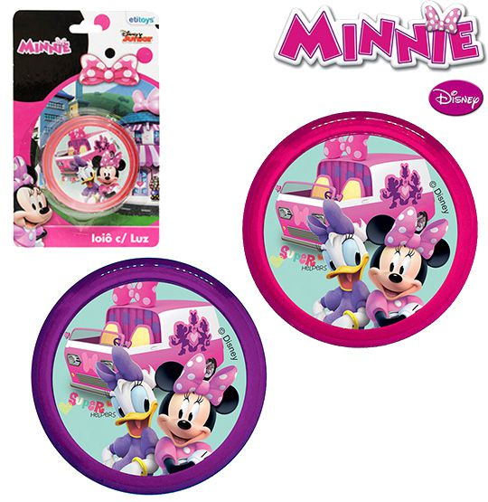 IÔIÔ COM LUZ - MINNIE DISNEY