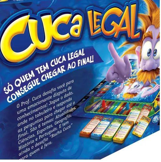 JOGO CUCA LEGAL COM 672 PERGUNTAS PAIS & FILHOS