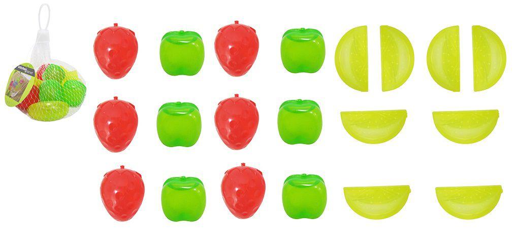 Kit com 20 Cubos de Gelo Tipo Frutas Artificiais Ecológico Reutilizável