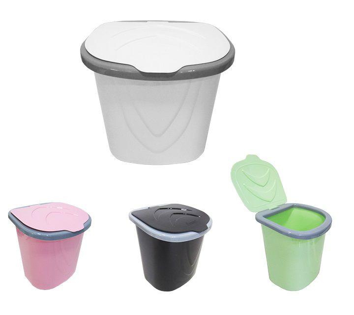 Lixeira de Plástico para Pia 6,5L