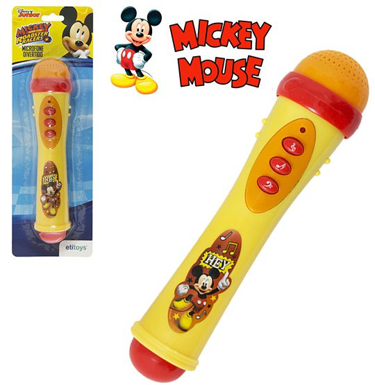 MICROFONE INFANTIL MUSICAL - MICKEY