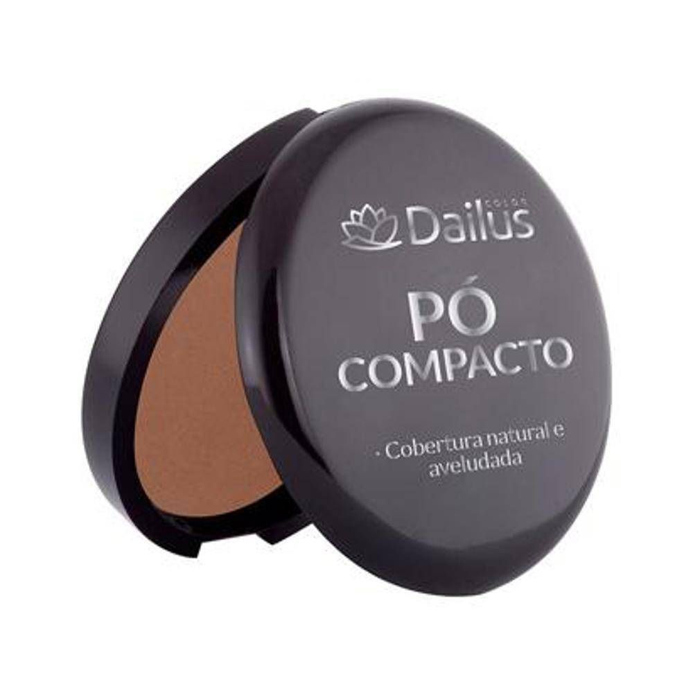 PÓ COMPACTO DAILUS COR 10 CHOCOLATE
