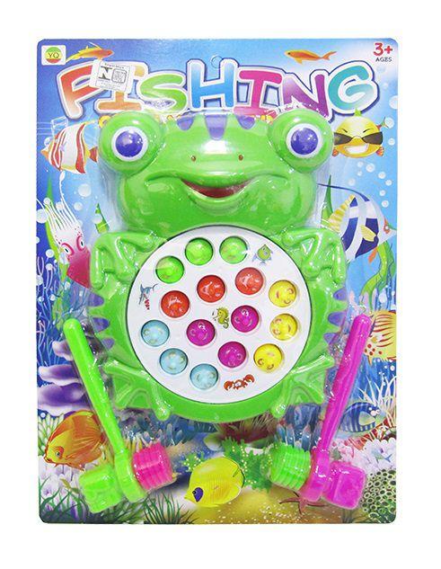 Sapinho Pega Peixe com 2 Martelinhos a Pilha Game Fishing