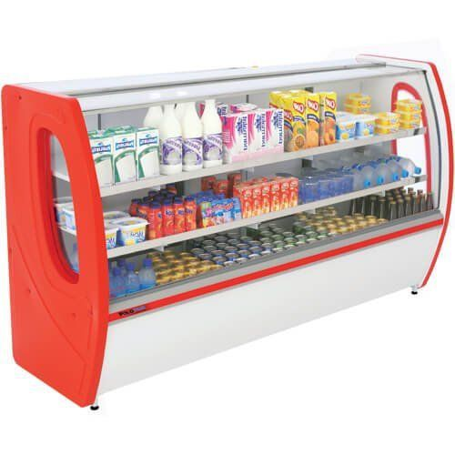 Balcão Refrigerado Premium 1,50m Vidro Semi Curvo - Polofrio  - Automasite