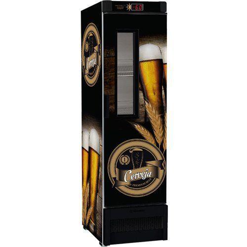 Cervejeira Vertical 324L VN28FE c/ Visor - Metalfrio