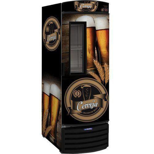 Cervejeira Vertical 572L VN50FL c/ Visor - Metalfrio