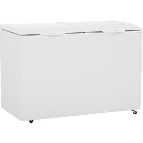 Freezer Dupla Ação Horizontal 410L Gelopar GHBS-410 BR 220V