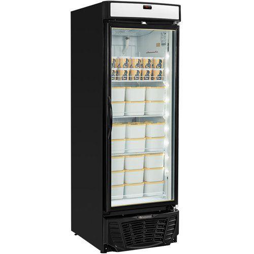 Freezer Expositor Vertical 570L Gelopar Esmeralda GLDF-570 PR 220V