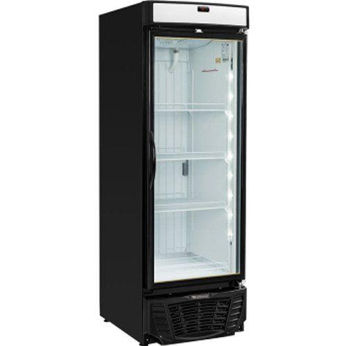Freezer Expositor Vertical 570L Gelopar Esmeralda GLDF-570 PR 220V  - Automasite