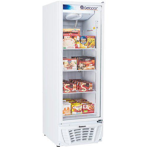 Freezer Expositor Vertical 570L Gelopar Turmalina GPTF-570 BR 220V