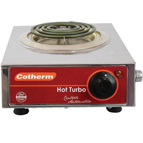 Fogão Elétrico 1 Boca 1250W Cotherm Hot Turbo 127V