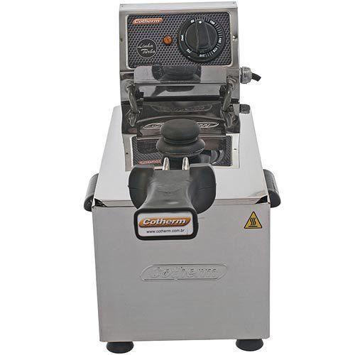 Fritadeira Elétrica 1 Cuba Inox 3L Cotherm Turbo 220V  - Automasite