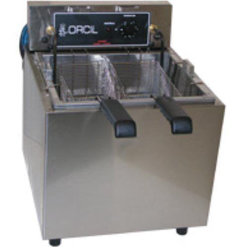 Fritadeira Elétrica Água e Óleo 1 Cuba Inox Orcil FAO5M 220V