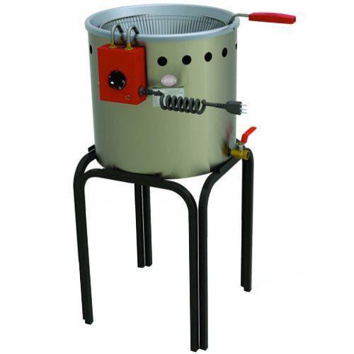 Fritadeira Elétrica Água e Óleo Inox 12L Progás PR-90E 127V