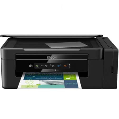 Impressora Multifuncional Epson EcoTank L396 Jato de Tinta USB / Wi-Fi