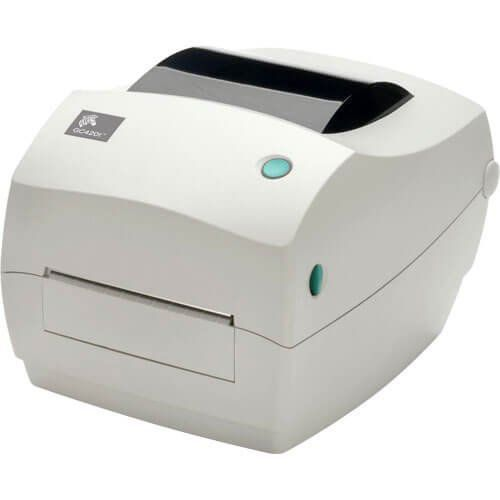 Kit Impressora GC420t Zebra + Leitor QW2100 c/ Suporte Datalogic  - Automasite