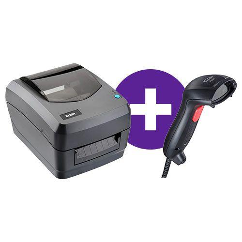 Kit Impressora L42 + Leitor Flash - Elgin