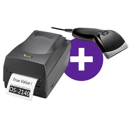 Kit Impressora OS-2140 Argox + Leitor BR-400 Bematech