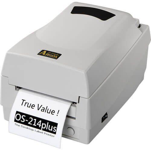 Kit Impressora OS-214 Plus Argox + Leitor LS2208 c/ Suporte Zebra  - Automasite