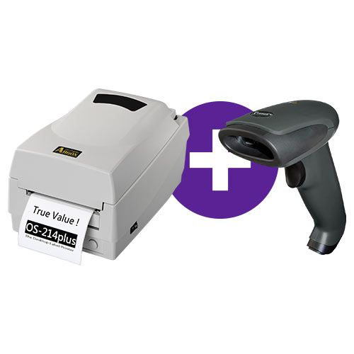 Kit Impressora OS-214 Plus Argox + Leitor TL-120 Tanca