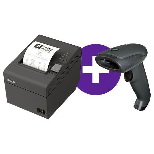 Kit Impressora TM-T20 Epson + Leitor TL-120 Tanca
