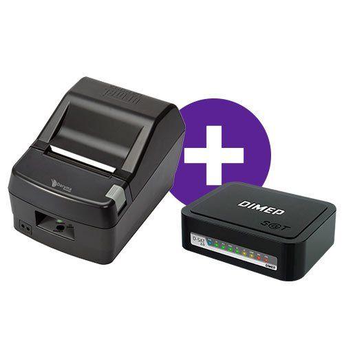 Kit Impressora DR800 L Daruma + SAT Fiscal D-SAT 2.0 Dimep