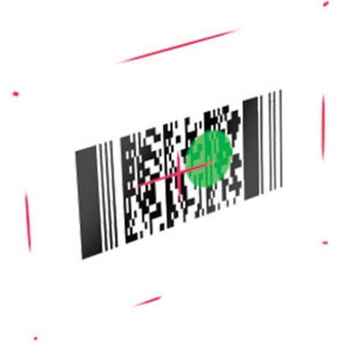 Leitor de Código de Barras 2D Datalogic QuickScan I QD2400 c/ Suporte  - Automasite