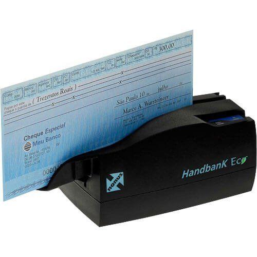 Leitor de Boleto Bancário e Cheque Nonus Handbank Eco 10  - Automasite