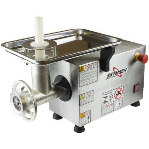 Picador de Carnes Inox Boca 10 Skymsen PS-10 220V