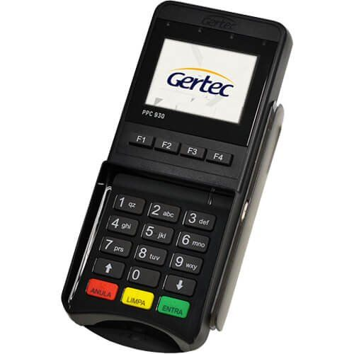 Pin Pad Gertec PPC 930  - Automasite
