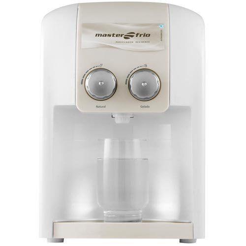 Purificador de Água 1,7L Masterfrio Residence Branco Bivolt  - Automasite