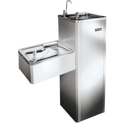 Purificador de Água Industrial Duplo 3,5L Masterfrio MFA-40 Inox 220V